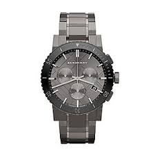 burberry men 039 s 42mm black steel chronograph sapphire crystal image is loading burberry men 039 s 42mm black steel chronograph