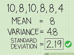 How To Calculate Standard Deviation 12 Steps With Pictures
