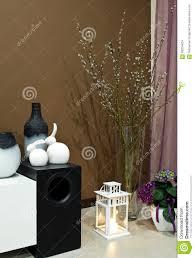Living Room Corner Decoration Living Room Corner Decorated Stock Photo Image 68204624