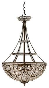 elk lighting elizabethan dark bronze pendant light w 4 light 60w 5965 4