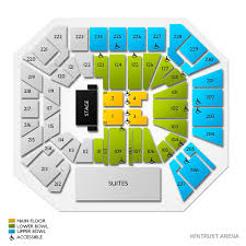 Wintrust Arena Seating Chart With Rows Ateez Chicago Tickets 4 19 2020 7 30 Pm Vivid Seats