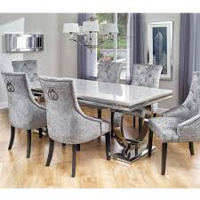 6 chair dining tables regarding cookes collection valentina table and chairs prepare 0