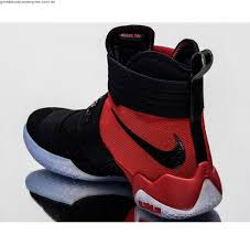 lebron shoes soldier 10 red and black. nike lebron soldier 10 sfg x men basketball shoes new black red 844378-006 and