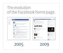 Facebook Layouts Over The Years Web Design Porto Design Porto