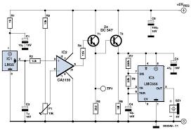 overheat detector alarm switch overheat detector circuit schematic
