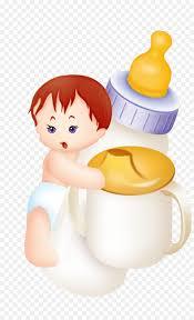 Bebe Desenho Bebe Com Mamadeira Desenho Png Milk Baby Bottles Clipart