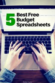 Best Microsoft Excel Budgeting Spreadsheets Free Household