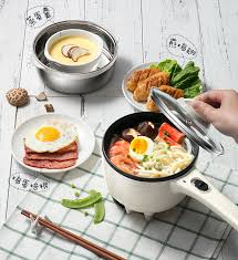 <b>Portable</b> Mini <b>Electric Multi Cooker Multicooker</b> Noodle Cooker Pot ...