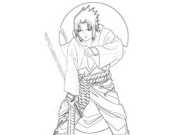 Naruto Coloring Pages Sasuke Action Cartoon Coloring Pages Of