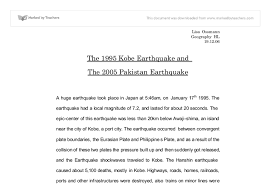 kobe and earthquake essay international baccalaureate document image preview