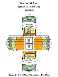 Vanderbilt University Memorial Gymnasium Tickets Vanderbilt