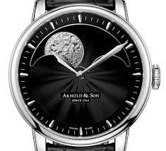 17 best images about watches dna moon dust and arnold son hm perpetual moon watch one of the largest moon phase dials in the
