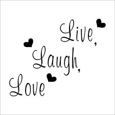 Live Laugh Love Quotes Classy Live Laugh Love Quote Wall Stickers Home Decor Art Decal Sticker