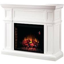 classic flame electric fireplace insert mantel white storage