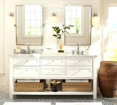bathroom Pottery Barn Bath Vanity Mirrors Bathroom Lights Look