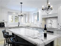 quartz master engineered calacatta marble kitchen countertop