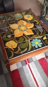 vintage tiled coffee table vgc in dunmurry belfast gumtree