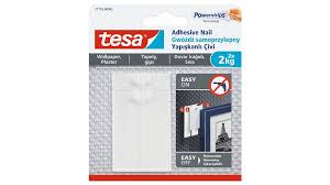 tesa adhesive nail for wallpaper