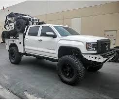 Custom Flat Bed Utility Bed Off Road Truck | Trucks | Pinterest ...