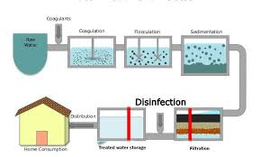Steps Of Water Purification Process Online Biology Notes