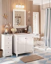 Beach Style Bathroom Decor Bathroom Beach Decor Sunny Bathroom 7 Beach Inspired Decorating