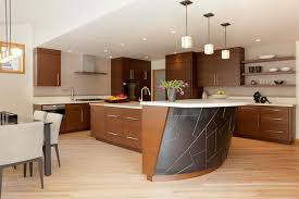modern curved kitchen island. Source Modern Curved Kitchen Island S