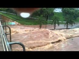 Resultado de imagem para foto corrego botafogo inundado