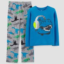 boys pajamas robes target just one youacirc132cent made by carter sacircreg boys 2pc blue dinosaurs pajama set