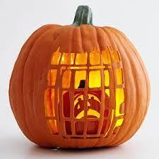 11. captive pumpkin carving