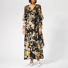 Diane Von Furstenberg Womens Alice Dress Floating Bouquet Multi