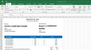 How To Create A Professional Invoice How To Create A Professional Invoice Template In Excel