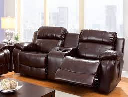 com furniture of america derick 2 recliner love seat kitchen dining
