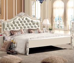 Leather Bed,modern Leather Beds With Crystal,white Leather Bed In Beds From  Furniture On Aliexpress.com | Alibaba Group