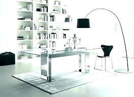 contemporary glass office. Glass Office Furniture Contemporary Desk With Drawers  S