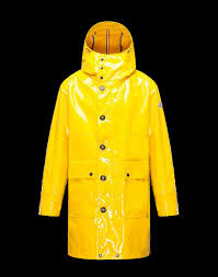moncler forrer men s trench coats yellow