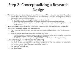 Conceptualizing A Research Design The Research Process M Tsvere Phd Ppt Download