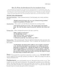 how to write a narrative essay introduction writing a essay introduction