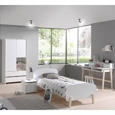 Jugendzimmer Schlafzimmer Set Sligo 12 In Lack Weiß Kiefer Massiv Kl