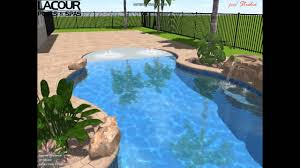 fiberglass pools with beach entry.  Fiberglass FREE FORM BEACH ENTRY ROCK FEATURE SPA And Fiberglass Pools With Beach Entry N