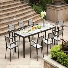 expandable outdoor dining table elegant lush poly patio dining table ideas od patio table set