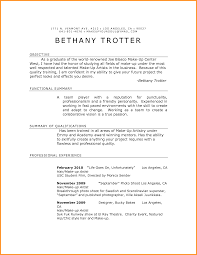 Resume For Makeup Artist For Mac Free Resume Example And Writing