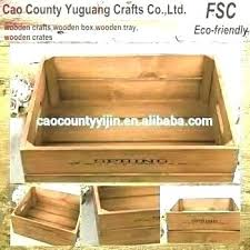 wooden boxes hobby lobby unfinished wood box milk crates crate modern storage hob