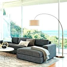 sectional floor lamp living room amazing behind couch lamp overarching linen shade floor antique brass o sectional floor lamp