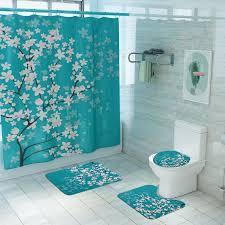 anti skid rugs carpet toilet lid