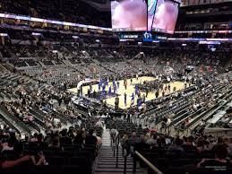At T Center Section 112 San Antonio Spurs Rateyourseats Com
