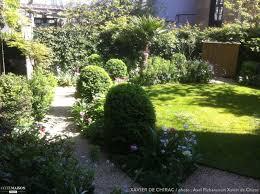 Un Tr S Petit Jardin Plant D Un Abricotier De Roses D Iris De