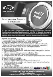 jobs open in sbt leading automobile export company for jobs open in sbt leading automobile export company for international business consultant eligibility degree