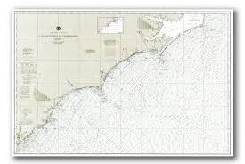 Nautical Chart Of Nc Coast Waters Island Life Nc