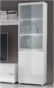 white gloss cabinet. Plain White Aspire White Gloss Display Cabinet Shelving Storage Unit P9RXAS10 Inside