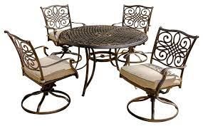traditions 5 piece dining set four